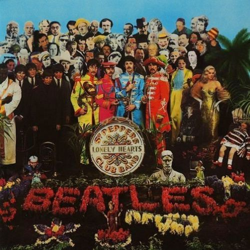 THE BEATLES Sgt. Pepper's Lonely Hearts Club Band Vinyl Record LP Parlophone 2016